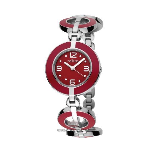 reloj potens rojo